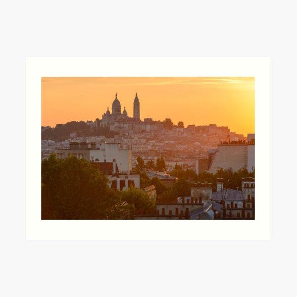 Montmartre, Paris Impression artistique