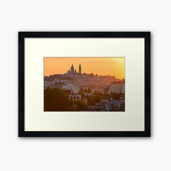 Montmartre, Paris Impression encadrée