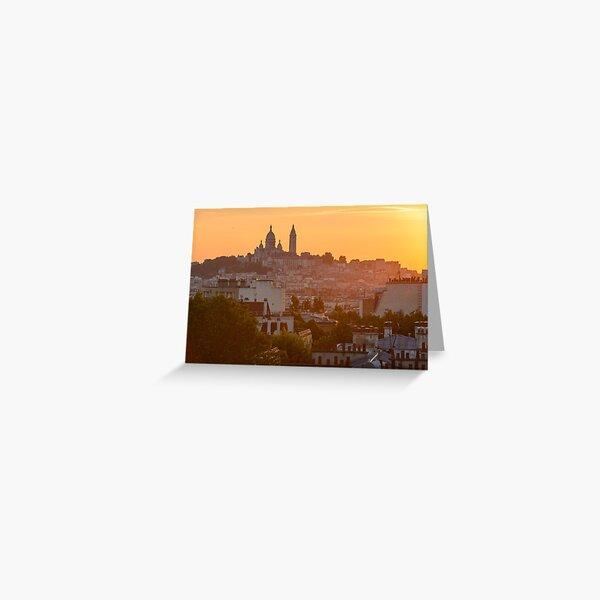 Montmartre, Paris Carte de vœux
