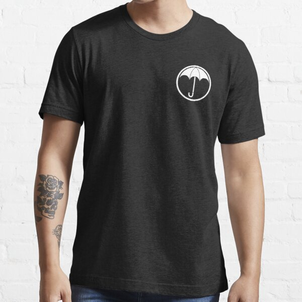 Umbrella Academy Logo Blanco Camiseta esencial