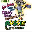 Fair Dinkum ,True Blue, Dinky Die, Aussie Legend - Koala Shirt  by ptelling