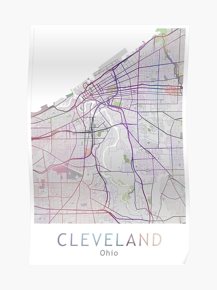 Cleveland In Usa Map on
