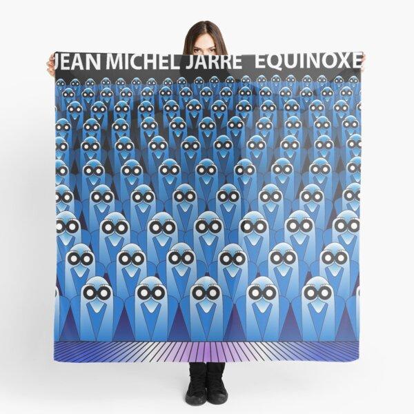Jean Michel Jarre Equinoxe LP vinyle vinyle musique électronique des années 80 vintage underground Foulard