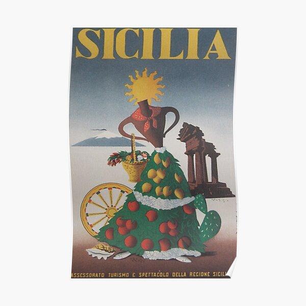 Sicilia Poster