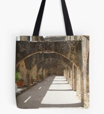 Walkway of Convento Tote Bag