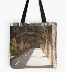 Walkway of Convento Tote Bag