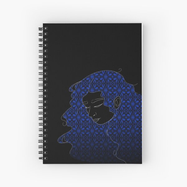 Art Meets Motif - Diamond for Your Thoughts Spiral Notebook