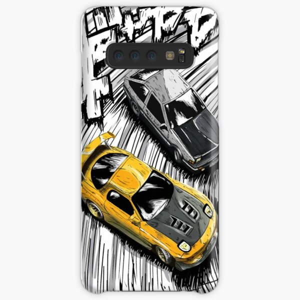 Initial D style artwork, RX7 vs AE86 Samsung Galaxy Snap Case