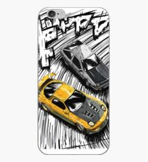 Initial D style artwork, RX7 vs AE86 iPhone Case