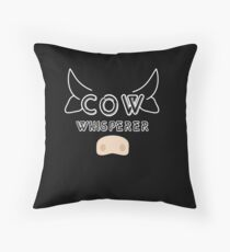 The Cow Whisperer - Perfect Gift Cow Whisperer Cow Bodenkissen