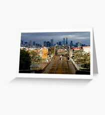 Melbourne from The West Greeting Card