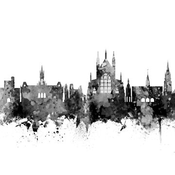 Winchester England Skyline by ArtPrints