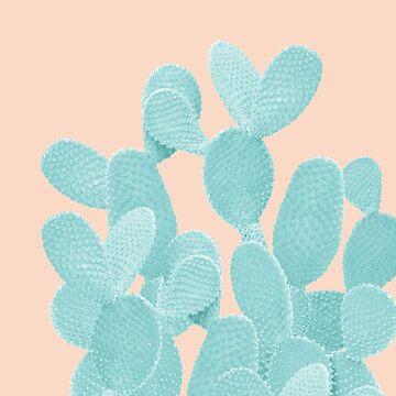 Summer Cactus #1 #succulent #decor #art  by anitabellajantz