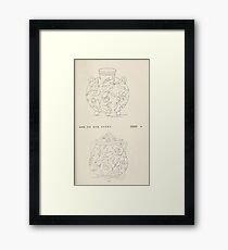 Briggs & Company Patent Transferring Papers Kate Greenaway 1886 0129 Framed Print