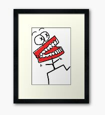Talk To Me Baby Framed Print