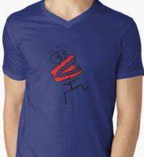 Talk To Me Baby Men's V-Neck T-Shirt
