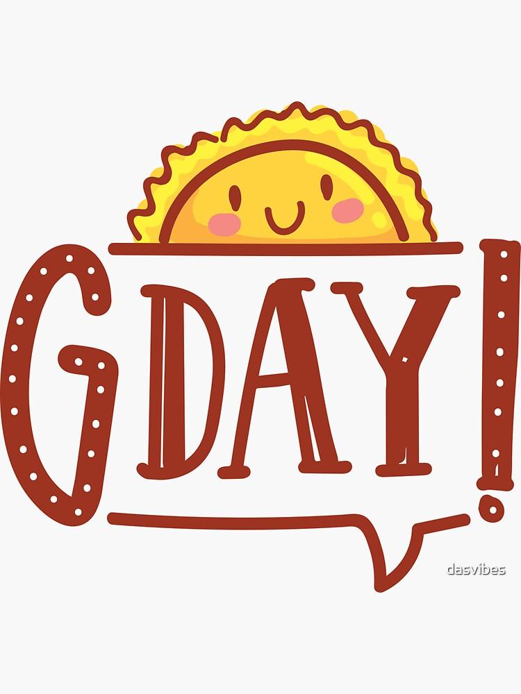 G'day by AussiEmoji™ Australia by dasvibes
