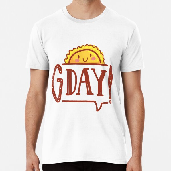 G'day by AussiEmoji™ Australia Premium T-Shirt