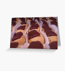 Chocolate Delight Greeting Card