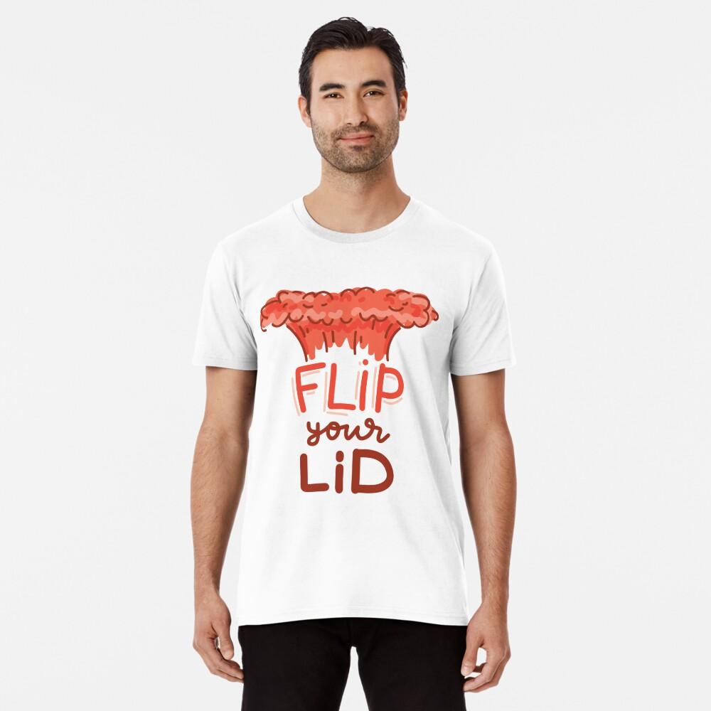 Flip Your Lid by AussiEmoji™ Australia Premium T-Shirt