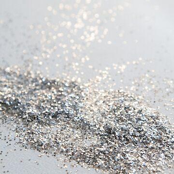 Silver Gray Glitter #2 #shiny #decor #art  by anitabellajantz