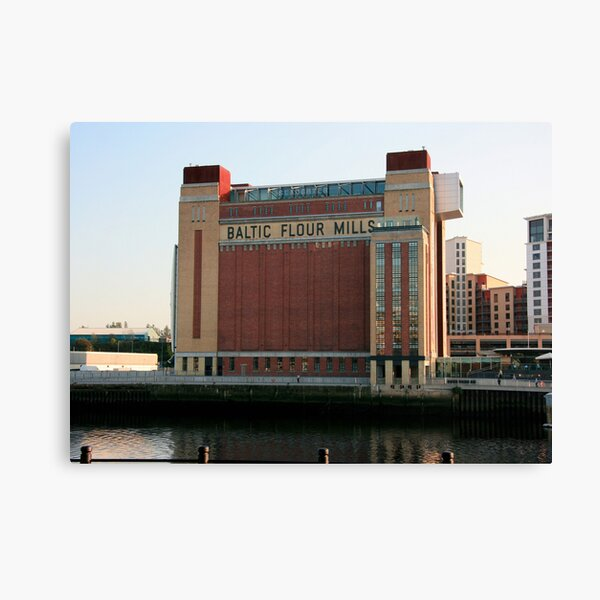 Baltic Flour Mills Canvas Print