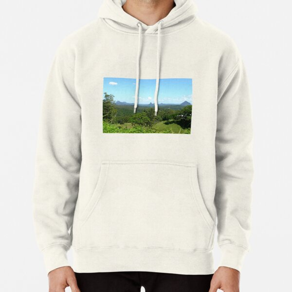 Glasshouse mountains (2) Pullover Hoodie