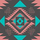 Navajo Southwestern shapes by CocosAbstract