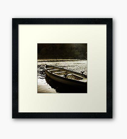 Tay Fishing Boat Framed Print