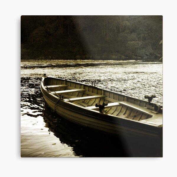Tay Fishing Boat Metal Print