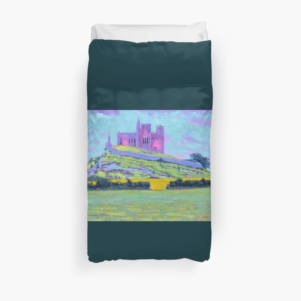 The Rock of Cashel III (Tipperary, Ireland) Duvet Cover