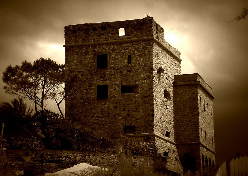 """LEFT IN RUINS""  -MONTEROSSO AL MARE, ITALIAN RIVIERA by KiwigirlKara"