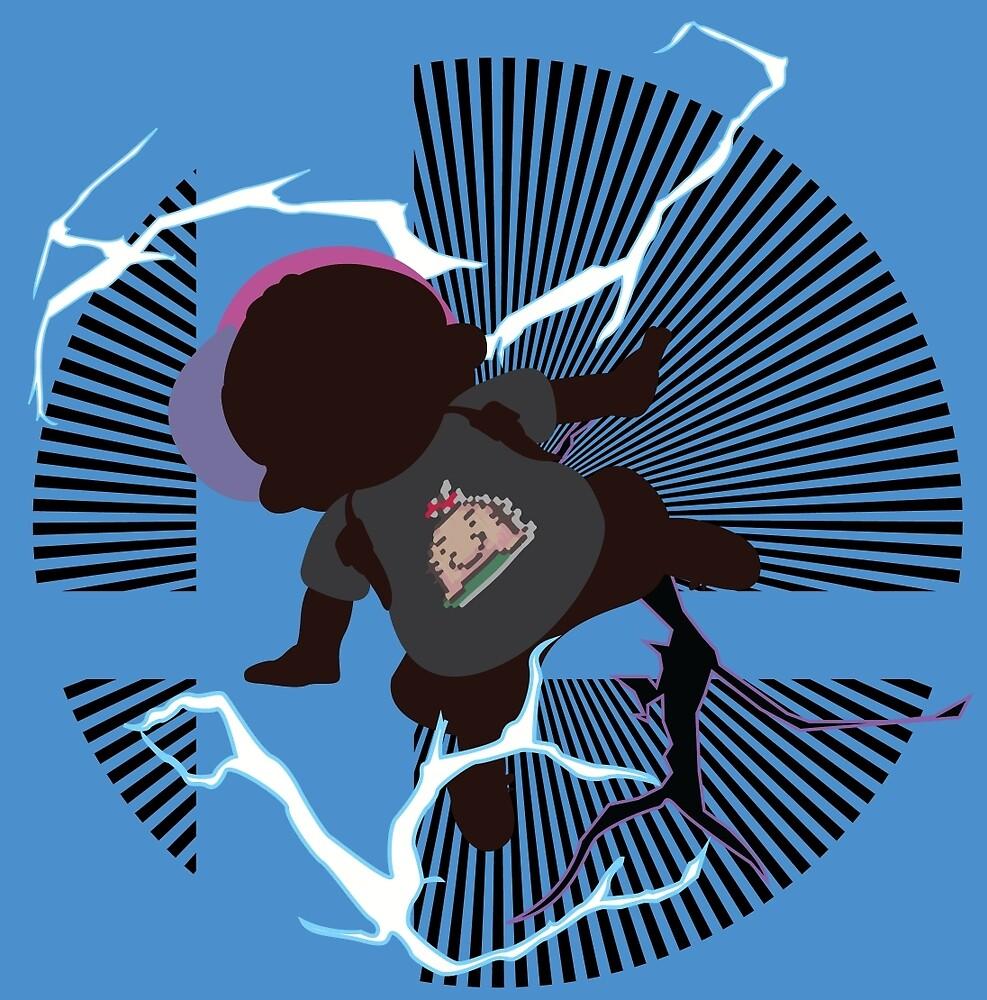 PK Thunder (Ness, Mr. Saturn Shirt) - Sunset Shores by Kevandre