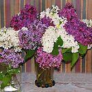 Two Bouquets by Linda Miller Gesualdo
