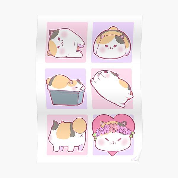 I ♥ ︎ Fat Cat Poster