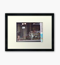 Latte life ... Framed Print