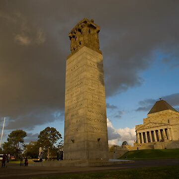 The Shrine of Remembrance by eos30me