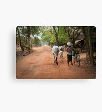 Rural Life  Canvas Print
