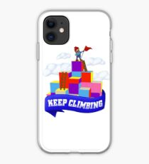 Keep Climbing iPhone Case