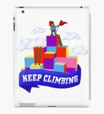 Keep Climbing iPad Case/Skin