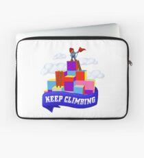 Keep Climbing Laptop Sleeve