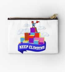 Keep Climbing Zipper Pouch