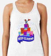 Keep Climbing Racerback Tank Top