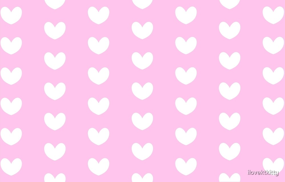Pink hearts by hug-the-kitkat