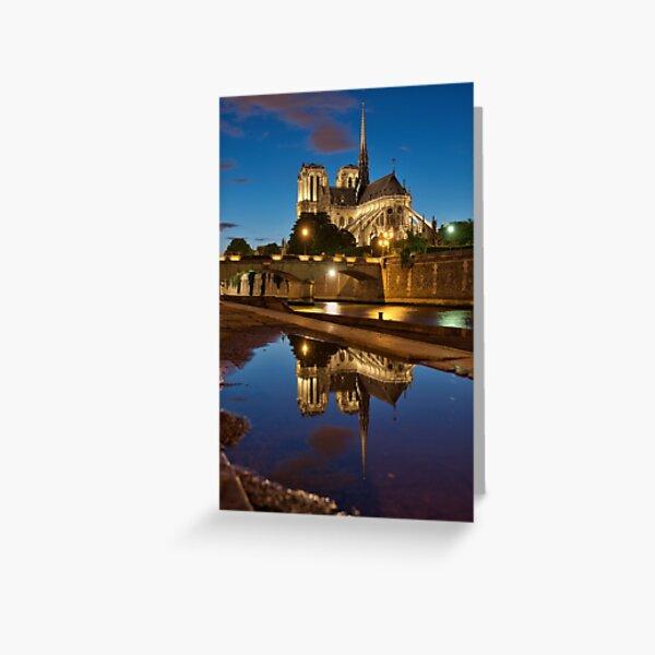Cathédrale Notre-Dame de Paris Carte de vœux