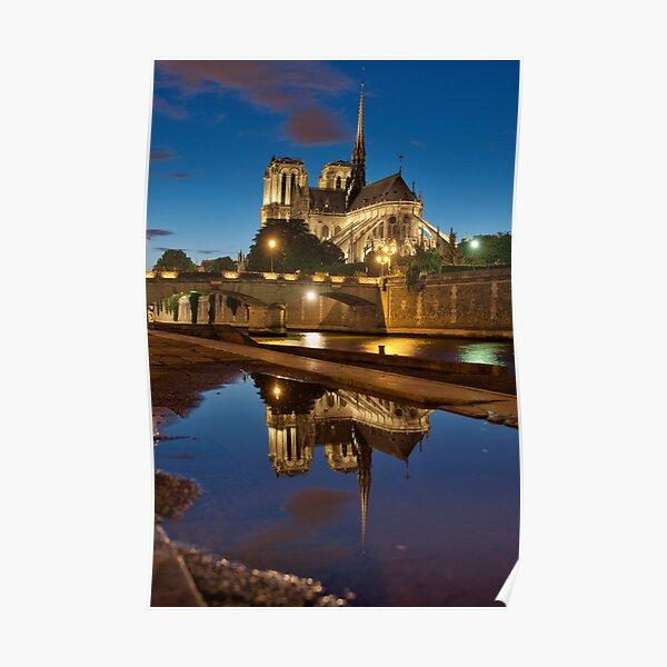 Notre-Dame de Paris cathedral Poster