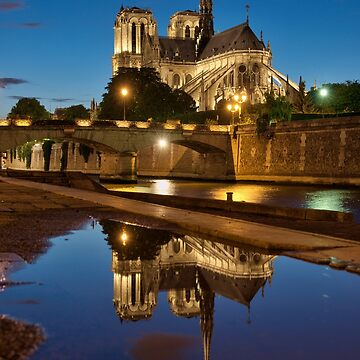 «Cathédrale Notre-Dame de Paris» par Isenmann