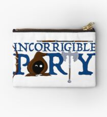 The Incorrigible Party Zipper Pouch