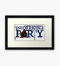 The Incorrigible Party Framed Print