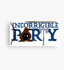 The Incorrigible Party Canvas Print